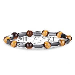 Hematite Tiger Eye Bracelet